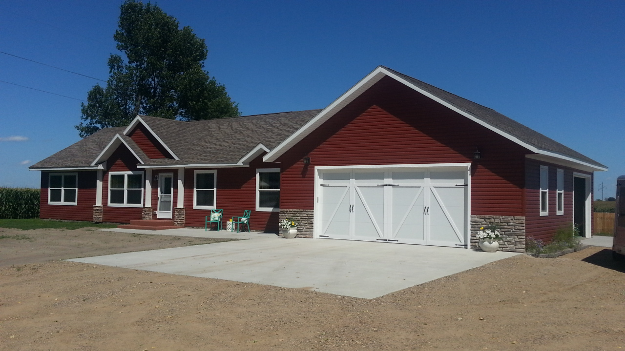 Modular manufactured home exteriors st cloud mankato - How are modular homes built ...
