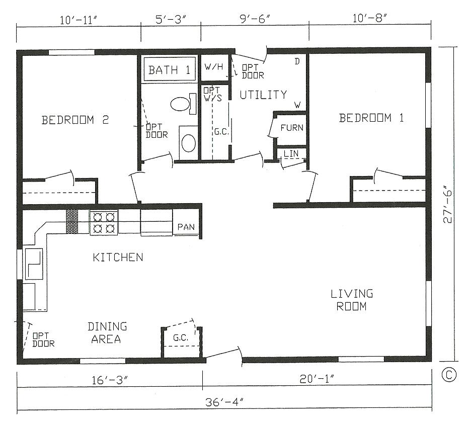 28x38 house plans. 20 x 28 house plans  House interior