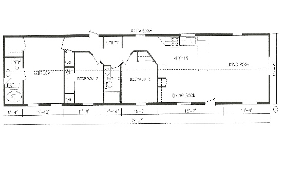 Best value home designs st cloud mankato litchfield mn for 16 x 70 mobile home floor plans